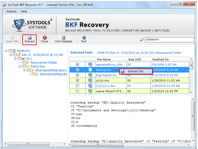 Securely Fix MS BKF File with Ease
